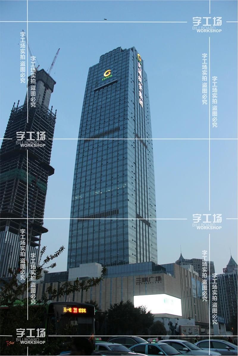 楼体发光标识多种技术的运用