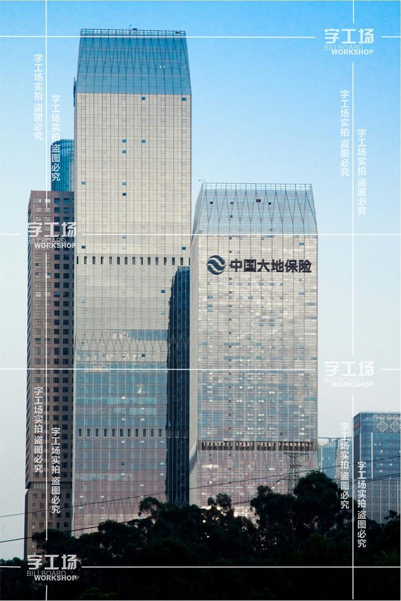 高档楼体发光字信息设计的简化和灯光的运用和利用