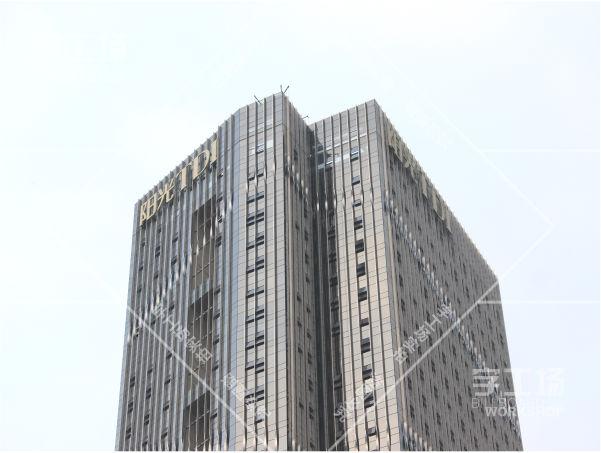 阳光TDI高楼标识发光字工程