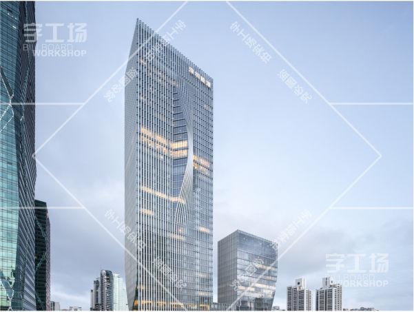 深圳能源大厦发光字工程