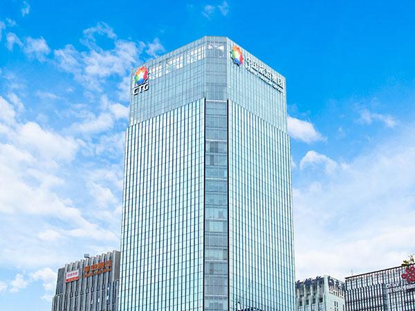 深圳中国旅游集团商务大厦发光字工程案例