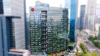中信银行玻璃幕墙发光字工程案例视频