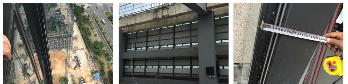 海南双创大厦玻璃幕墙发光字工程案例