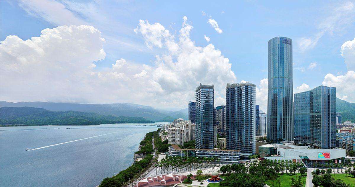 深圳凯悦星级酒店发光字工程案例