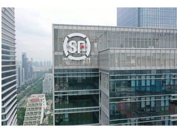 深圳顺丰速运(集团)商务大厦发光字工程案例