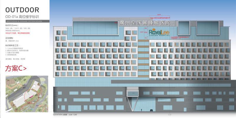 楼宇发光字设计方案7