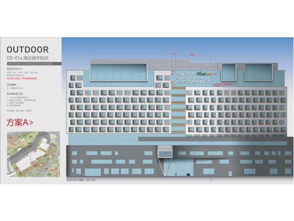 楼宇发光字设计方案
