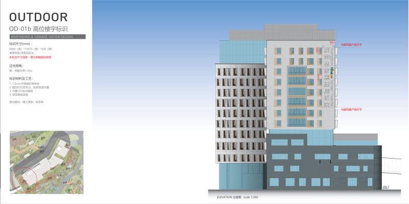 楼宇发光字设计方案10