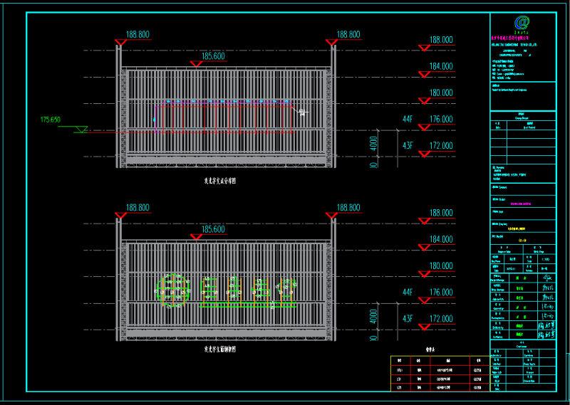 楼顶发光字施工图纸设计流程分享,分五个阶段来进行