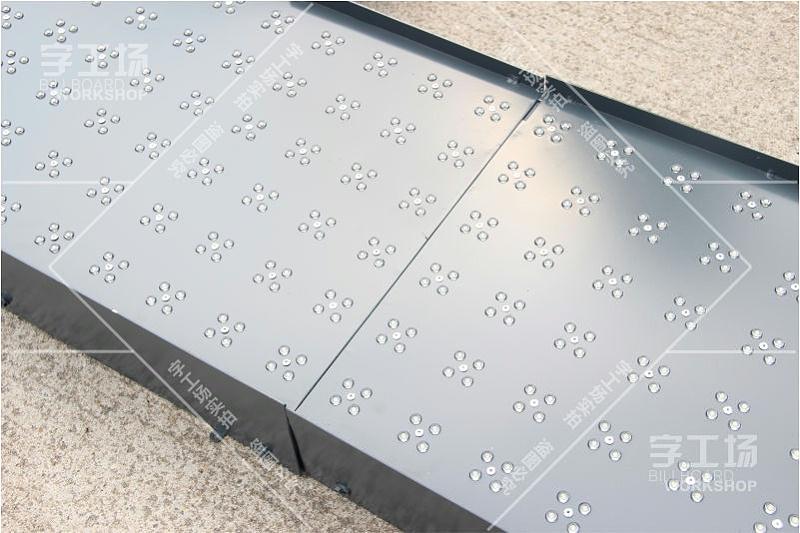 大型logo铝板发光字制作施工工艺