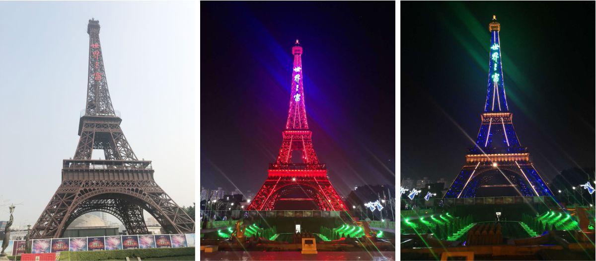 深圳世界之窗大型发光字工程案例